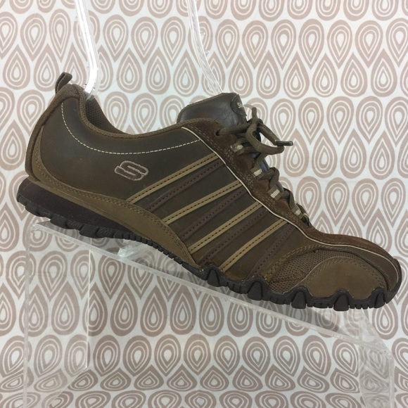 skechers brown shoes